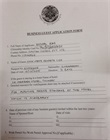 Business guest visa application form